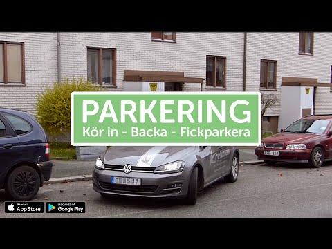 Ta Körkort - Parkering (rakt in, backa, fickparkering)