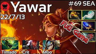 Yawar [FWD] plays Lina!!! Dota 2 Full Game 7.20