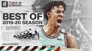 Ja Morant BEST Grizzlies Highlights from 2019-20 NBA Season! SUPERSTAR MODE! (PART 1)