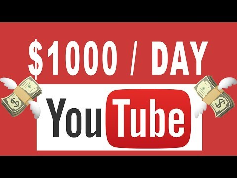 How To Make $1000 / Day On Youtube Without Making Video 2019