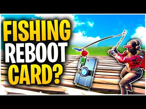 Can You FISH A REBOOT CARD To YOURSELF In Fortnite Chapter 2? | Fortnite Mythbusters