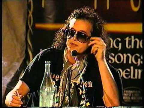 Jimmy Page & Robert Plant Press Conference 1996 (Australia)