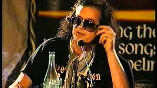 Jimmy Page & Robert Plant Press Conference 1996 (Australia)