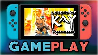 Legend Of Kay Anniversary | First 20 Minutes | Nintendo Switch