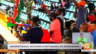 KDF basketball team lose to Rwanda