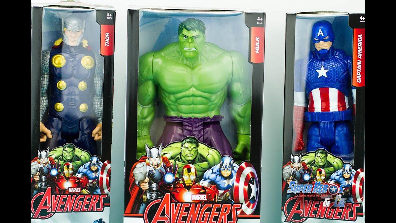 Super Hero Incredible Action Figure Marvel Avengers 2018 Hulk Titan Series