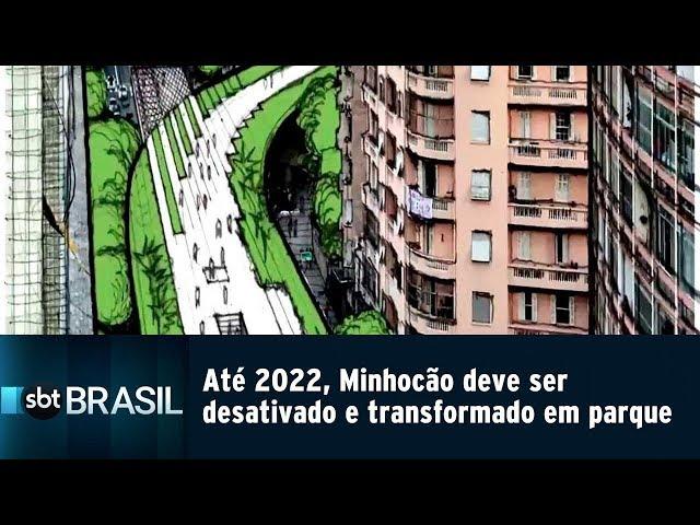 Até 2022, Minhocão deve ser desativado e transformado em parque   SBT Brasil (22/02/19)
