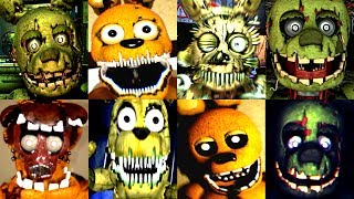 30 SPRINGTRAP JUMPSCARES FNAF Fan Games