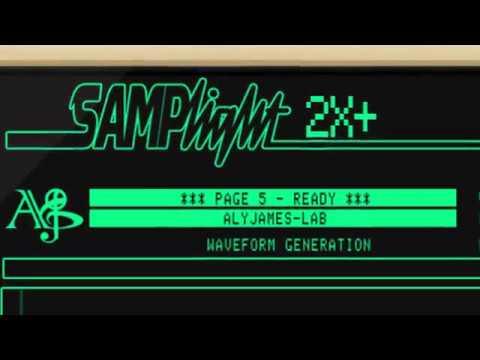 Samplight 2X+ (Fairlight CMI IIX Emulation) Sneak Preview