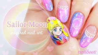 ☆ Sailor Moon Inspired Nail Art ☆