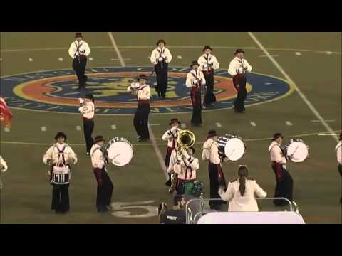 Ooceanside High School Marching Band -  Newsday Festival 2015