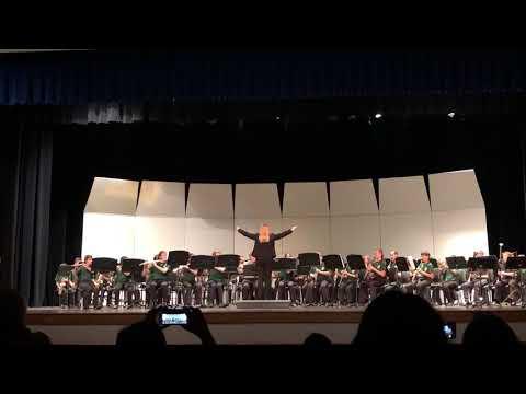 Hunt Middle School Beginner Band Holiday Concert