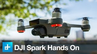 DJI Spark Quadcopter - Hands On Review