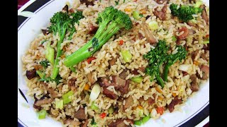 Char Siu Pork Fried Rice |CaribbeanPot.com