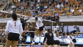 Texas Volleyball vs Stephen F. Austin Highlights [Nov. 29, 2018]