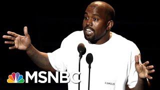 "Mark Thompson: Kanye West's Acting As ""President Trump's Personal Minstrel""   Velshi & Ruhle   MSNBC"