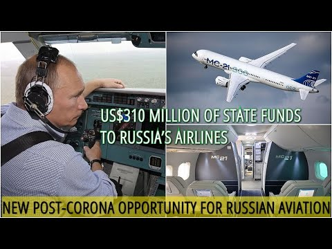 BREAKING! Putin: Russia Wants New 'Made-in-Russia' Airline And Offers Leasing Funds For Russian Jets