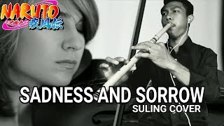 SADNESS AND SORROW COVER FLUTE (Suling Cover) Naruto Shippuden   Taylor Davis arr