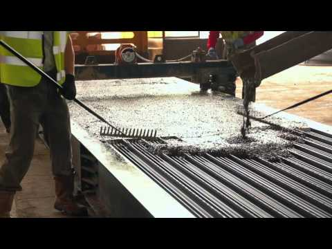 Prestressed T-Beam Production