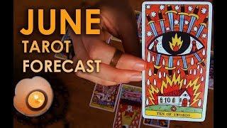 ASMR Tarot Reading for JUNE - The Twelve Houses Reading
