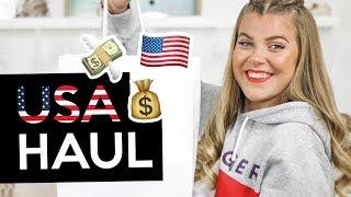 XXL 300 $ USA MAKEUP, FASHION + FOOD HAUL 😱💸🇺🇸 DIE BESTEN PRODUKTE! | Coco