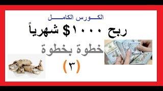 عمل صفحه بالشكل الصحيح والربح منها- 3