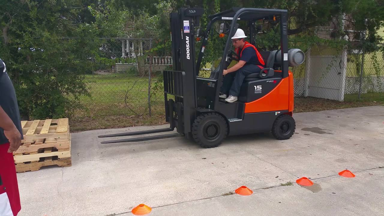 Forklift Operator Safety Training Classes At Florida Training