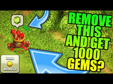 Remove FireWork Trash And Get 1000 Gems? Clash Of  Clans Lunar New Year•Future T18
