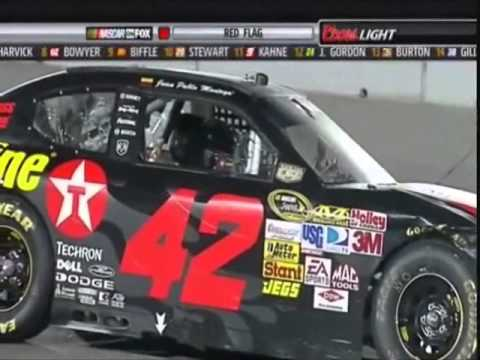 Juan Pablo Montoya: The Ultimate Cup Crash Compilation '06-'13