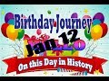 Birthday Journey January 12 New
