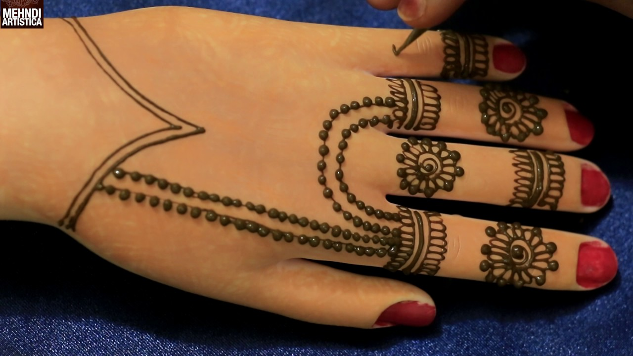 Exclusive Easy Simple Kids Henna Practice Hands For Beginners