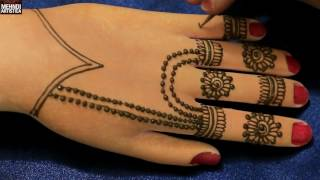 Exclusive Easy Simple Kids Henna Practice Hands For Beginners | Mehndi Designs
