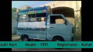 Suzuki Ravi Pick_up 1991 Model For Sale