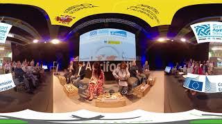 """La mesa de debate """"Ecosistemas de emprendimiento en zonas rurales"""""""