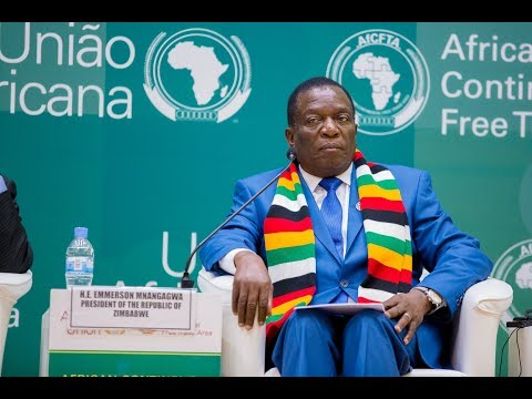 #AfCFTA: PRESIDENT MNANGAGWA SAYS ZIMBABWE IS OPEN FOR BUSINESS