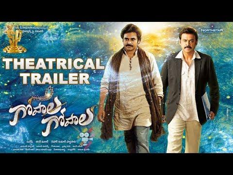 Gopala Gopala Theatrical Trailer - Venkatesh | Pawan Kalyan | Shriya Saran