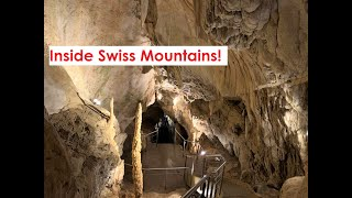 Mysteries inside Swiss Mountains | The Caves of Vallorbe | Switzerland