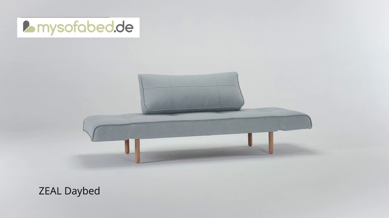 Innovation Zeal Schlafsofa Daybed Mysofabed De