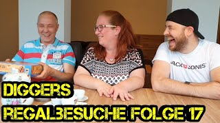 Regalbesuche - Digger bei Euch zu Gast - Folge 17 - Die Meusels - Brettspiele - Boardgame Digger