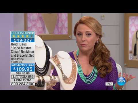 HSN | Heidi Daus Jewelry Designs Summer Deals 06.15.2017 - 02 AM