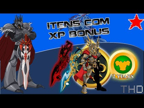 【AQW】Itens com XP Bonus! (2017)