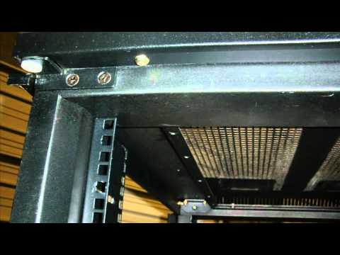 Server Rack 42u Apc Server Rack In Detail Youtube