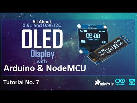 Tutorial on I2C OLED Display with Arduino/NodeMCU