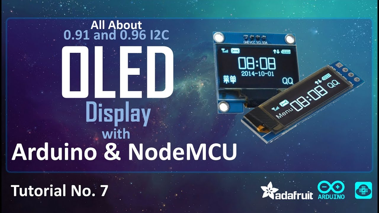 OLED I2C Display Arduino/NodeMCU Tutorial: 15 Steps