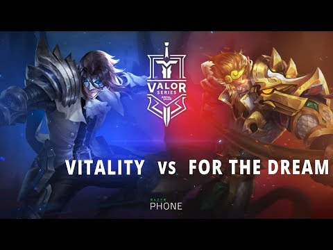 Vitality 2-1 For The Dream | Valor Series EU Week 4 Semi finals
