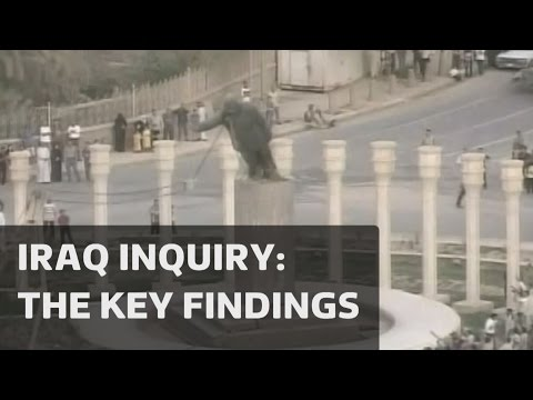 Iraq War Inquiry: The Key Findings