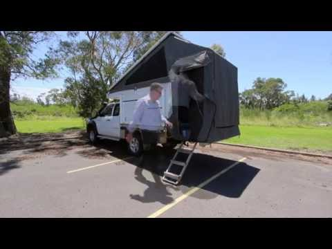 Tray-Tek Camper Set Up @ Australian Motor Homes