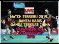 FINAL MENEGANGKAN..!! KEVIN GIDEON vs HAN ZHOU    Badminton Asia championship 2019