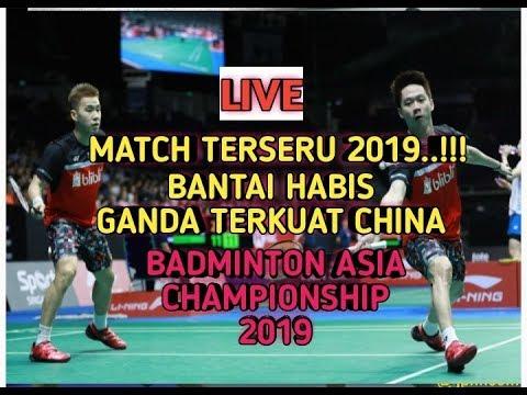 Download FINAL MENEGANGKAN..!! KEVIN GIDEON vs HAN ZHOU || Badminton Asia championship 2019