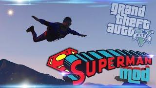 GTA V PC: SUPERMAN MOD
